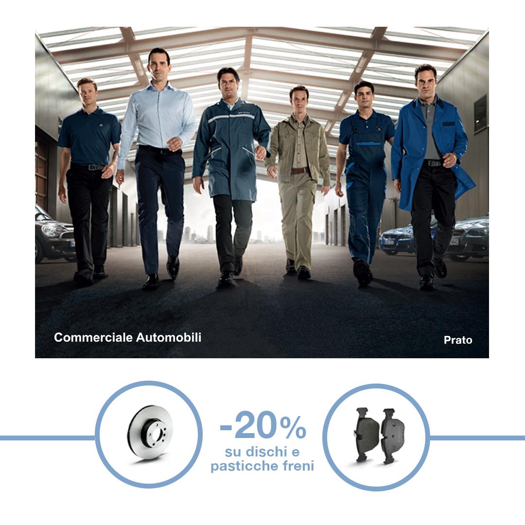 -20% Dischi e Pasticche Freni - Commerciale Automobili